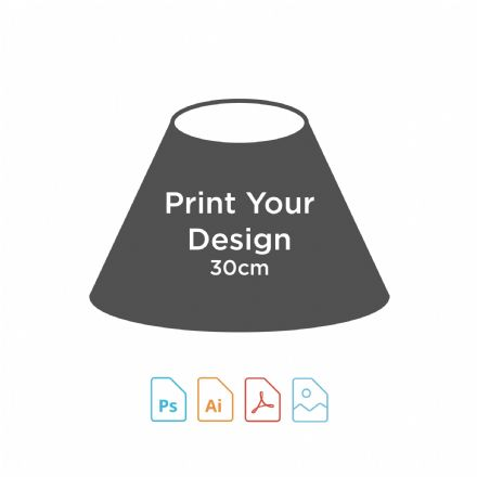 Digital Print for 30cm Coolie Lampshade Making Kit